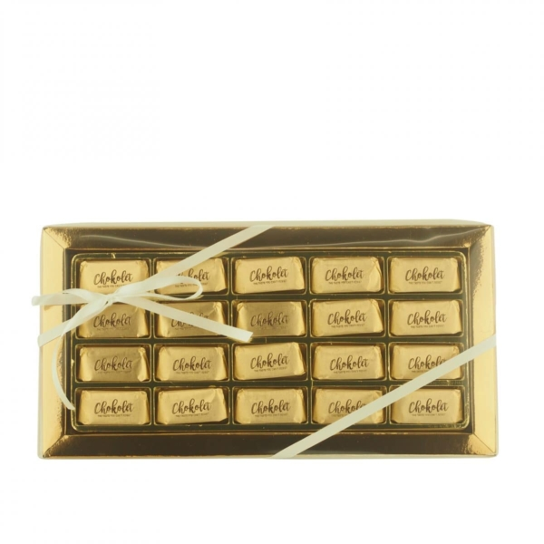 Gianduiotti Classic guld gaveæske - 220g