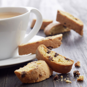Kaffe, Te og kage