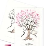 Fingeraftryk/fingerprint konfirmation pige pink