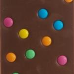 Lys chokolade med bon bon