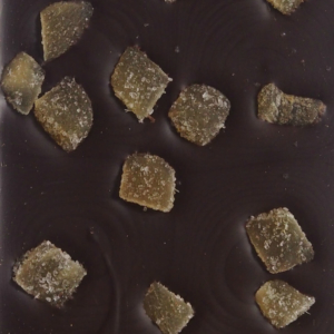 Mørk chokolade med ingefær